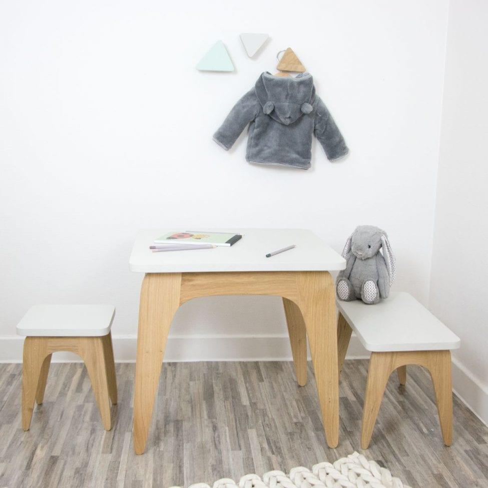 Banc Enfant Et Bébé Made In France, Mobilier Durable